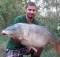 Štefan Benek, 21,02kg, Acid Plum od Garant baits, štrkovisko Komjatice