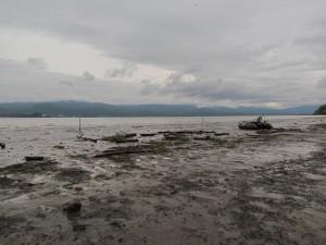 Po takejto letnej smršti síce rybári na brehu počítajú škody, ale pre ryby nastáva hodovanie.